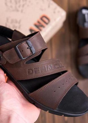 Мужские кожаные сандалии а11(6)