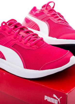 Puma оригинал летние женские кроссовки малинового цвета