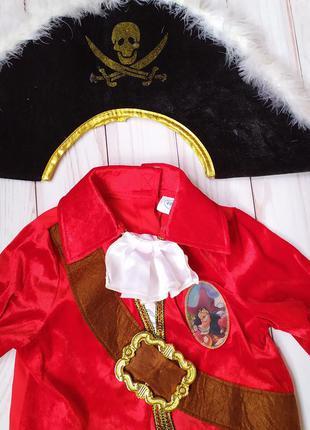 Карнавальный костюм пират пирата 3-4 г