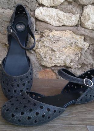 Melissa mel оригинал сандалии босоножки размер 38 бразилия