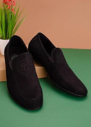 #28 туфли мужские чёрный