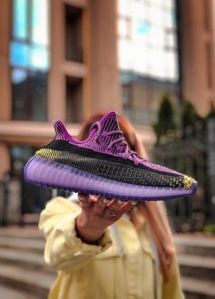 Кроссовки женские, рефлектив adidas yeezy boost v2