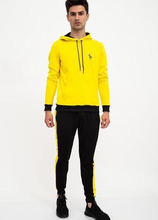 Спортивный  костюм мужской  цвет желтый