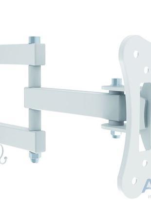 Надійний кронштейн для монтажу ТВ на стіну  ITECHmount LCD33B WHI