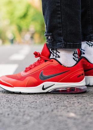 Nike air presto red, мужские кроссовки найк красные