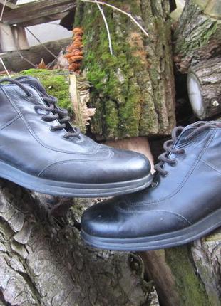Туфли мужские кожаные.