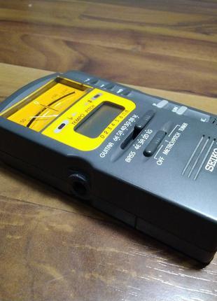 Метроном, аналоговий тюнер для гітари та басу SEIKO SMP-10