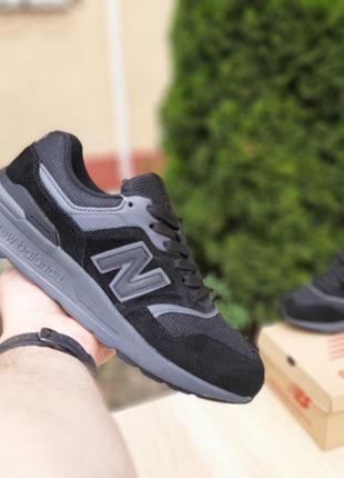 Sale 👟 кроссовки мужские  new balance 997 черные 👟