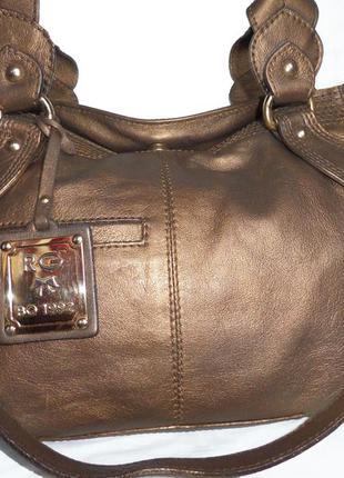 Стильная сумка из натуральной кожи roberta gandolfi италия