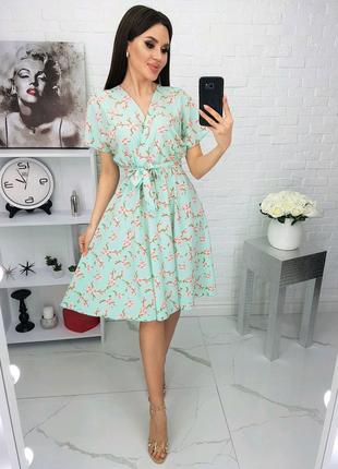 Платье в цветок