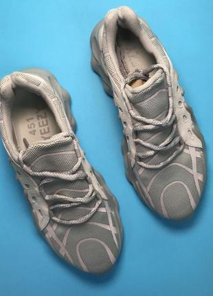 Кроссовки adidas yeezy boost 451 grey reflective