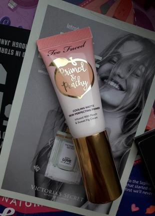 Too faced primed & peachy cooling matte perfecting primer прай...