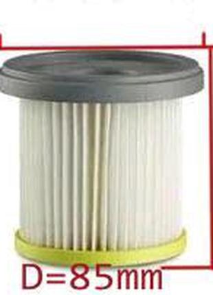 Фильтр цилиндрический для пылесоса Philips HEPA FC8047/01 h=93