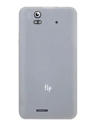Чехол Fly IQ4490і Poly Jacket TPU Transparent