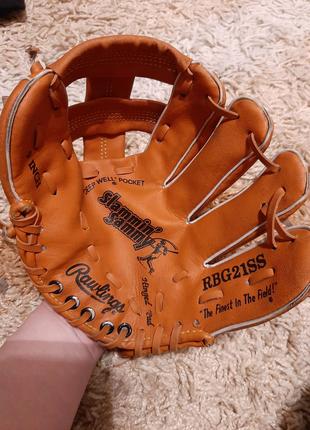 Бейсбольная кожаная перчатка ловушка