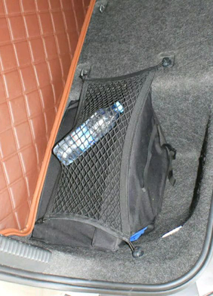 Skoda Octavia a7 аксесуар в багажник сетка