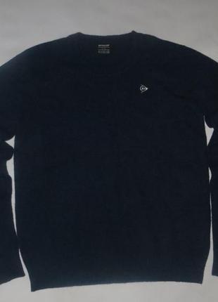 Шерстяной свитер dunlop