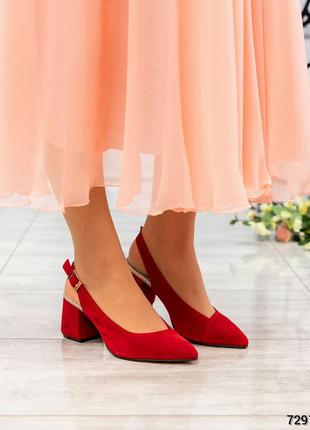 Новая коллекция туфли летние с ремешком  натуральная замша