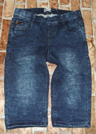 Шорты джинсовые стрейч 14 лет бермуды