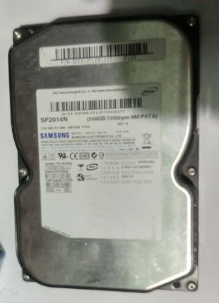 Жесткий диск IDE Samsung SP2014N на 200Гб в хорошем состоянии