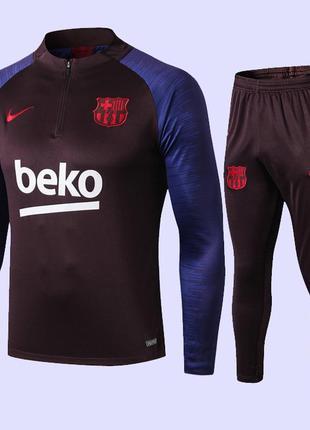 Детский тренировочный костюм для футбола dri-fit fc barcelona ...