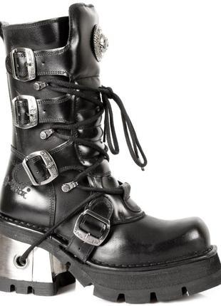 Легендарные тяжелые рокерские неформальные ботинки гады new ro...