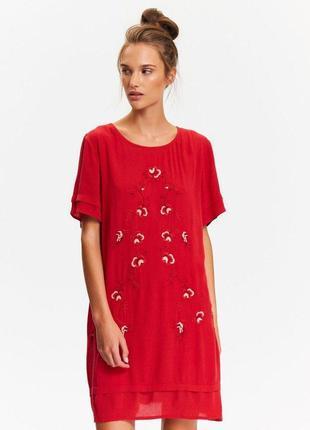 Платье летнее, свободного кроя, вискоза 100 %