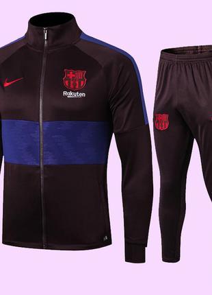 Футбольный костюм для детей fc barcelona jacket nike 2019-2020...