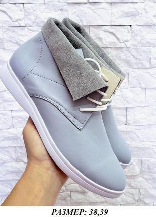Ботинки кожаные распродажа наличия хайтопы полуботинки сапоги