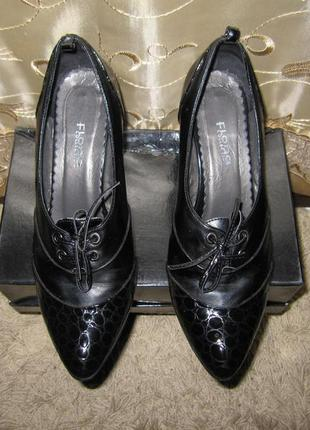 Туфли женские кожаные размер 38