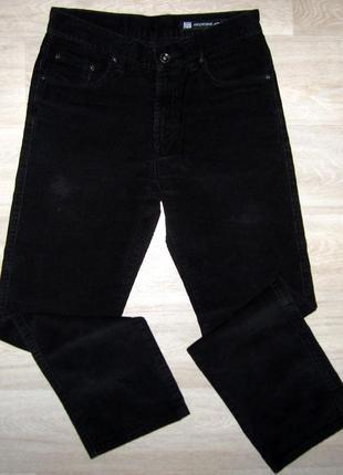 Вельветовые брюки мужские фирменные размер w:30 l:34