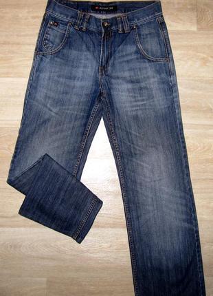 Джинсы мужские фирменные размер w:29 l:34