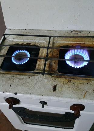 Газовая плита - 2 камфорная под Газ пропан из СССР