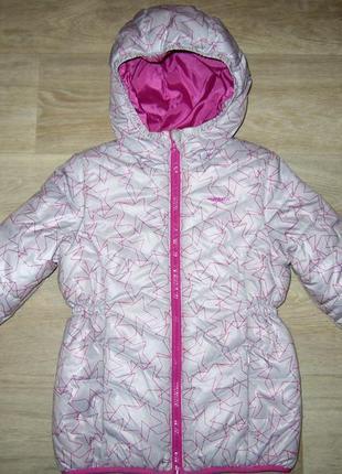 Демисезонная утепленная куртка для девочки тм demix