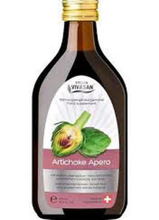 Напиток Артишок горький/Artichoke Apero Vivasan, Швейцария