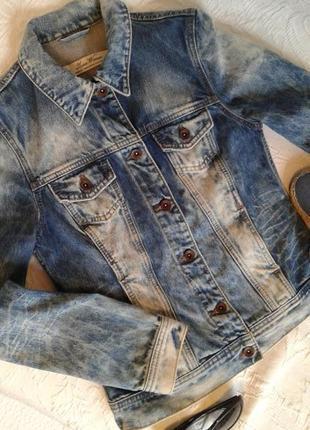 Куртка джинсовка zara