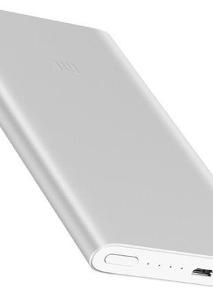 УМБ Xiaomi Mi Power Bank 5000 mAh Silver Повербанк Ксиоми