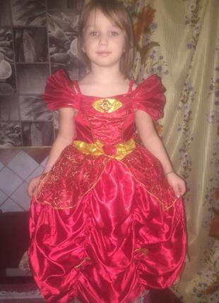 карнавальное платье Роза