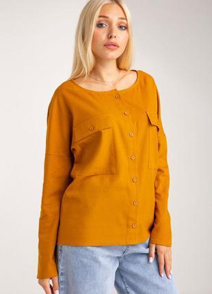 Льняная рубашка разные цвета