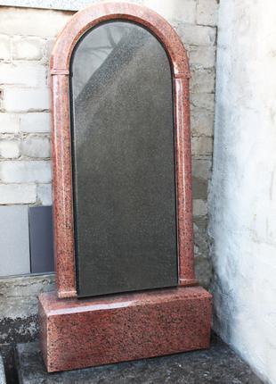 Памятник одинарный цветной
