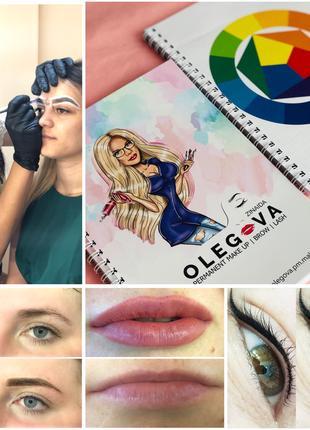 Обучение, курс Перманентный макияж