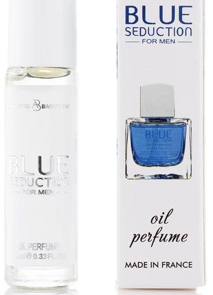 Мужской масляный парфюм Blue Seduction Antonio Banderas - 10 ml