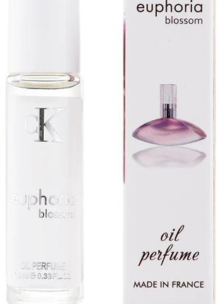 Масляные женские духи Calvin Klein Euphoria Blossom  -10 ml