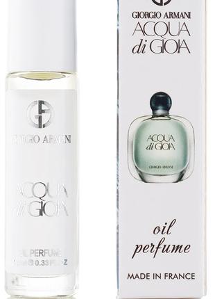 Духи женские масляные Giorgio Armani Acqua di Gioia - 10 ml