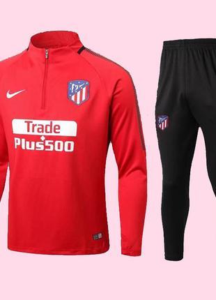 Футбольный костюм для детей атлетико мадрид nike red (2596)