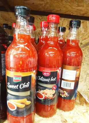 Соус Kania Sweet Chili  остро сладкий Голландия стекло