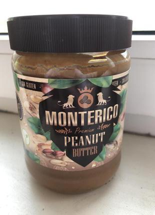 Арахисовая паста без глютена MONTERICO Penaut Butter для сердца