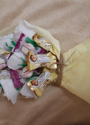 Букет з цукерок