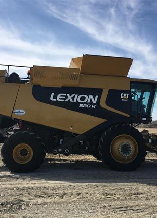 Комбайн CAT Claas Lexion 580