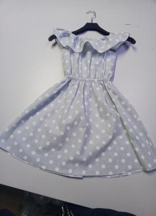 Хлопковое детское платье. распродажа